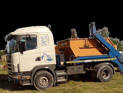 odvoz odpadu nakladne auto